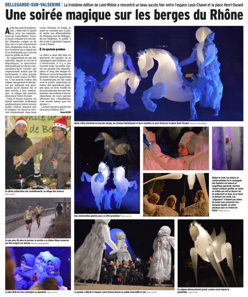 article FierS à Cheval Bellegarde sur Valserine