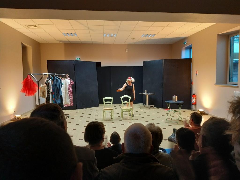Isabelle Bazin Compagnie de la Bouilloire répétition publique