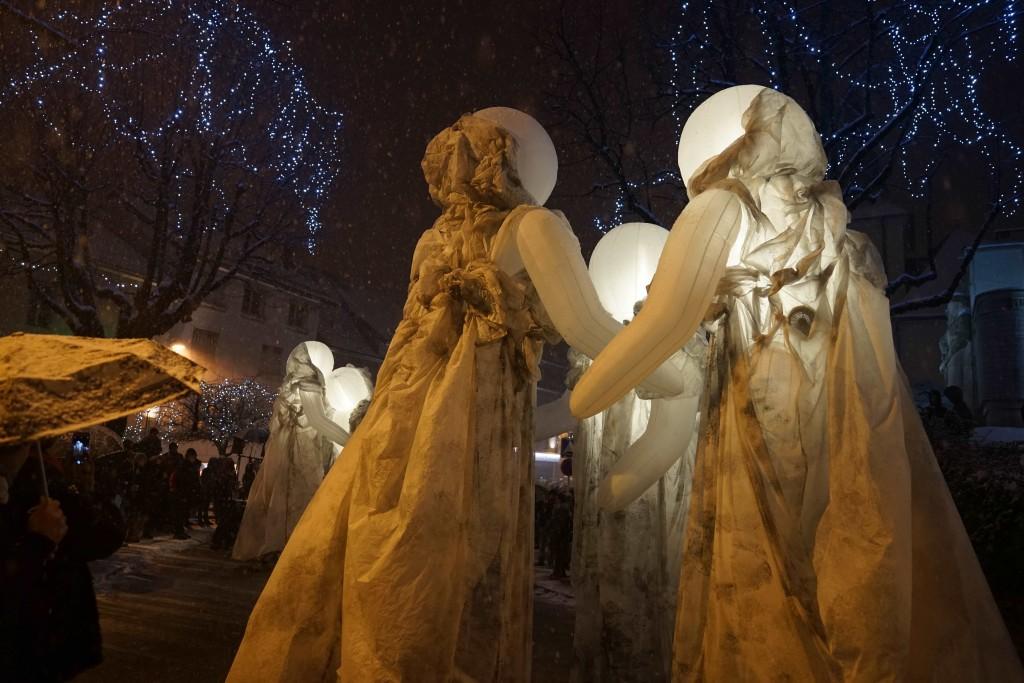 TOTEMS Oyonnax Fête de l'hiver