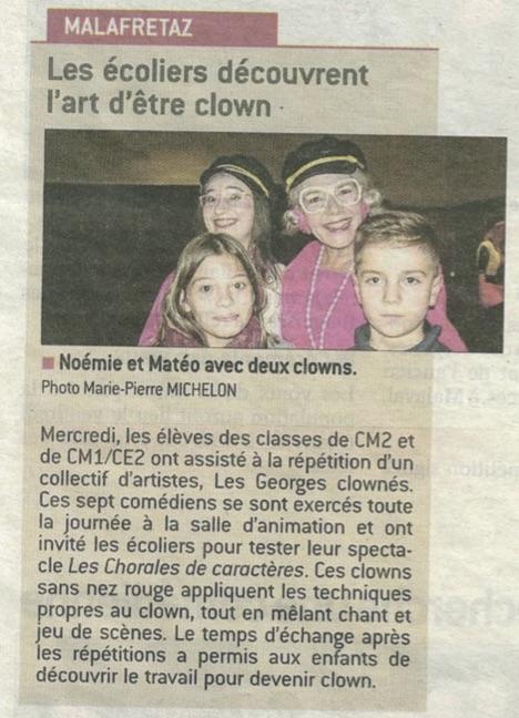 Les Georges Clownés Malafretaz